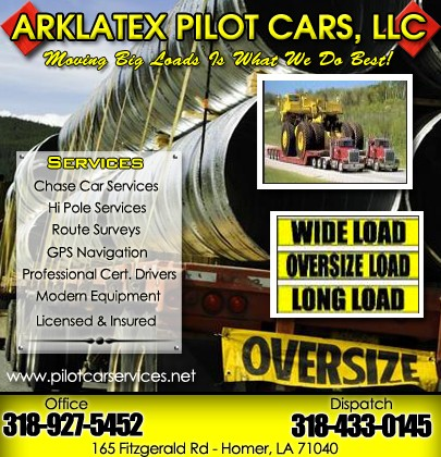 Arklatex Pilot Cars, Llc  | Truck Stop/Service Directory