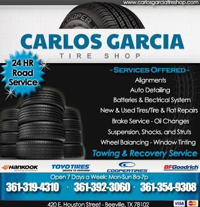 Garcias Tire Shop >> Carlos Garcia Tire Shop George West Tx Truck Stop