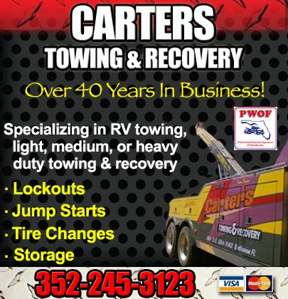 Carter'S Auto Repair >> Carter S Towing Recovery Auto Repair I 75 Exit 329