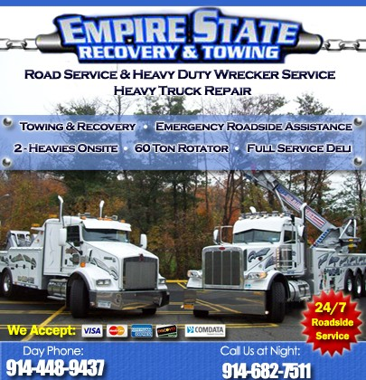 Empire State Recovery Towing White Plains Ny Truck Stop