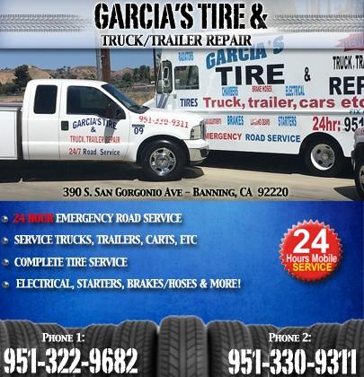 Garcia S Tire Truck Repair Corona Ca Truck Stop Service Directory