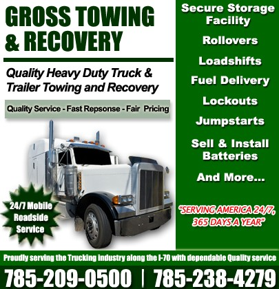 I 70 Towing >> Gross Towing And Recovery I 70 Exit 298 Truck Stop Service Directory