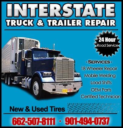Interstate Truck Trailer Repair Llc Memphis Tn Truck Stop