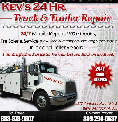Kev's 24 Hour Truck & Trailer Repair | DRY RIDGE, KY | Truck