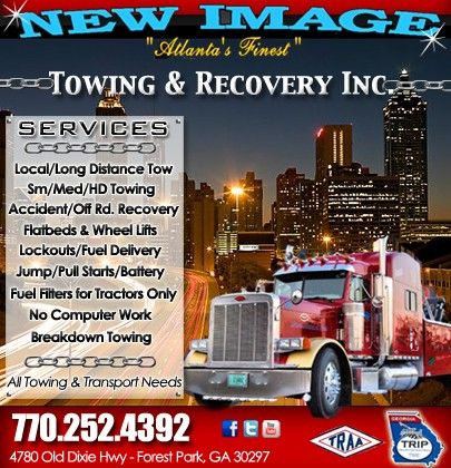 New Image Towing Recovery Inc Forest Park Ga Truck Stop