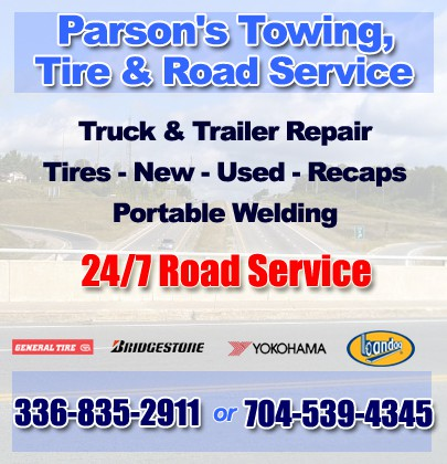 parson s towing tire road service wilkesboro nc truck stop service directory service wilkesboro nc truck
