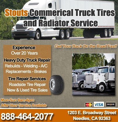 Stout S Commercial Truck Tires Radiator Service Needles Ca