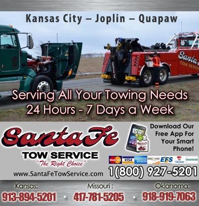 Santa Fe Tow >> Santa Fe Tow Service Kansas City Ks Truck Stop Service Directory