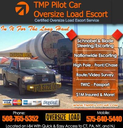 Tmp Pilot Car   SOUTHBRIDGE, MA   Truck Stop/Service Directory