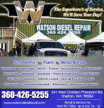 Watson Diesel Repair, Llc  | SHELTON, WA | Truck Stop