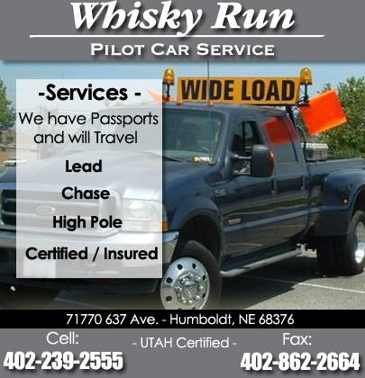Whiskey Run Pilot Car Service   HUMBOLDT, SD   Truck Stop/Service ...